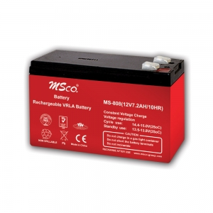 باتری خشک 12 ولت 7 آمپر msco