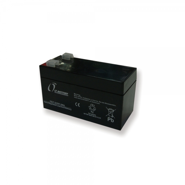 باتری 12 ولت 1.3 آمپر lt