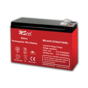 باتری خشک 12 ولت 9 آمپر msco