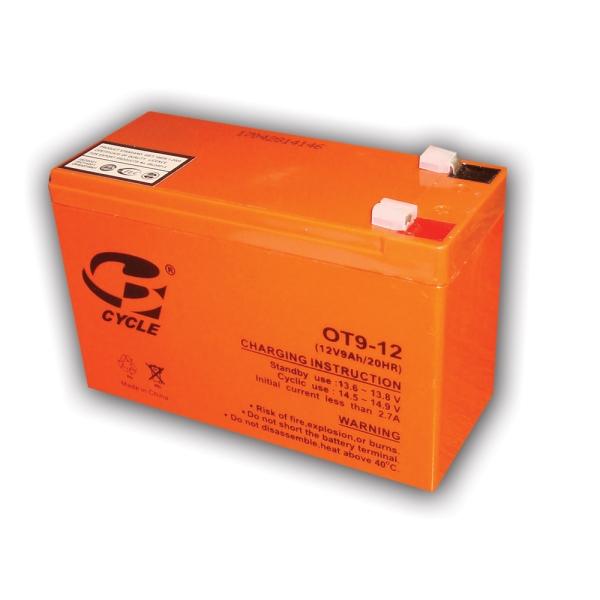 باتری 12 ولت 9 آمپر سایکل